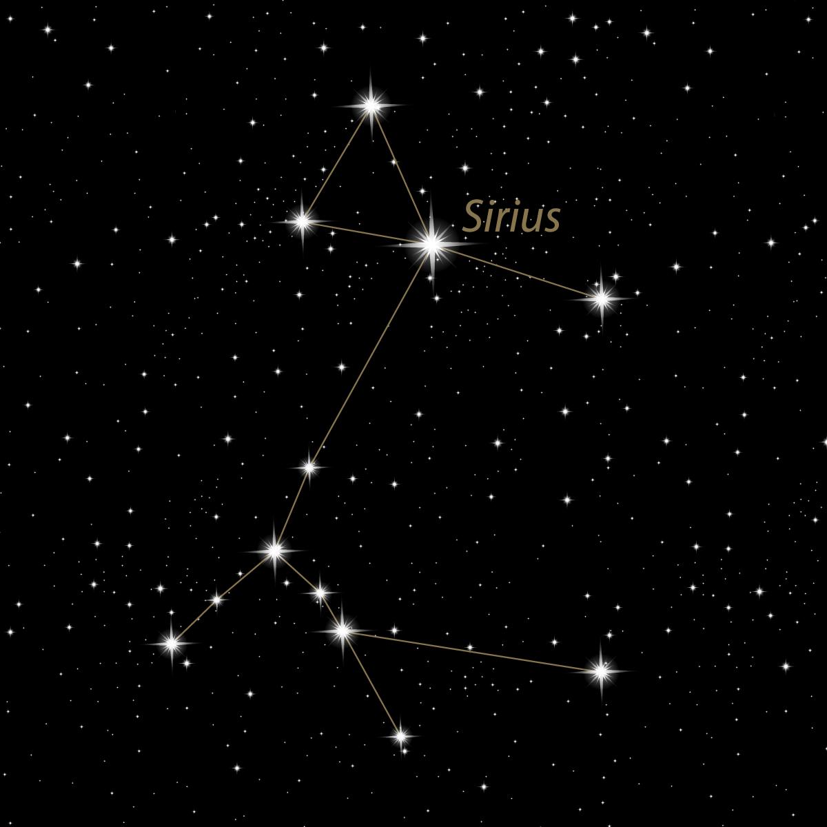 L'etoile Sirius